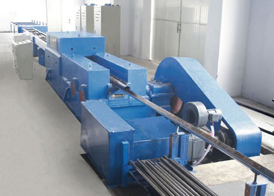 Cold Seamless Alloy Steel Continuous Rolling Mill Equipment 15m LG45 Dengan 75KW
