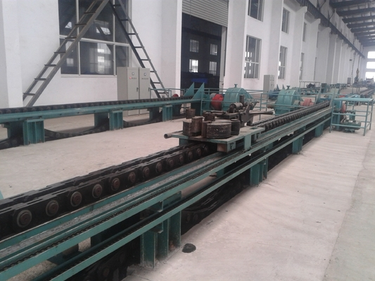 Hidrolik Dingin Drawbench Stainless Steel Seamless Pipe Machine 12m Dengan 11.9m / Min